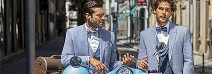 Colección de trajes de novio de Special Edition: para el novio relajado