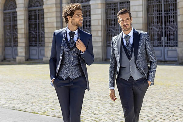 Blue Trend Groom Suits: For the Cheeky Groom