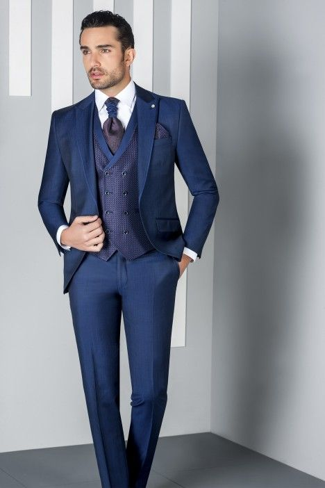 Blue groom suit ETERNAL 02.20.32D