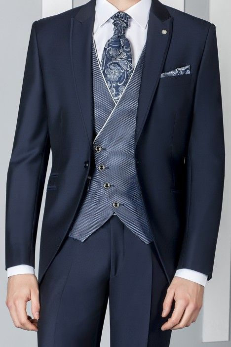 Blue groom suit ETERNAL 02.19.301