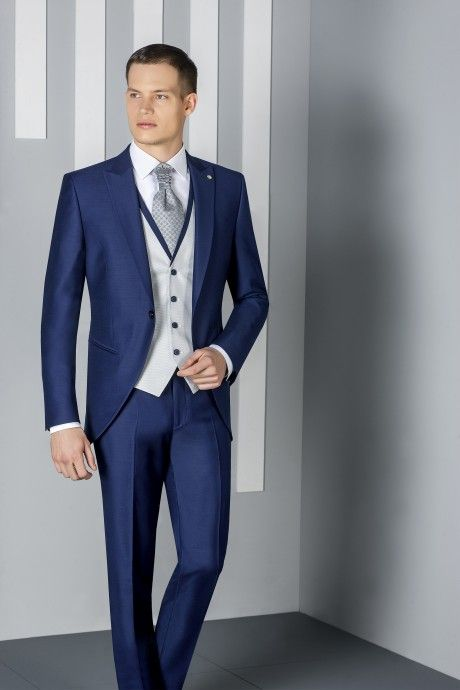 Blue groom suit ETERNAL 04.20.300