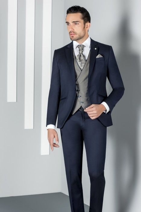 Blue groom suit ETERNAL 06.20.300