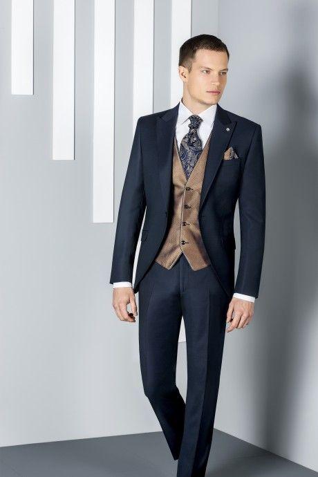 Blue groom suit ETERNAL 07.20.300