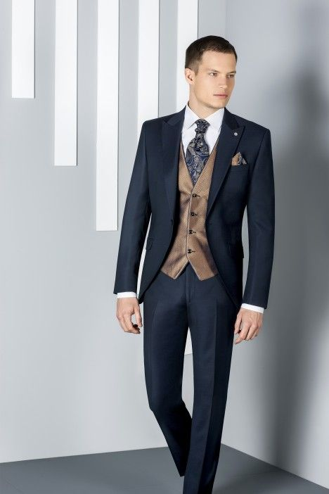 Blue groom suit ETERNAL 07.20.300