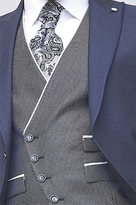 Hochzeitsanzug ETERNAL blau 08.20.300