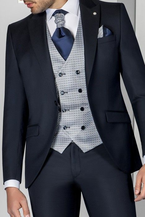 Blue groom suit ETERNAL 09.20.301