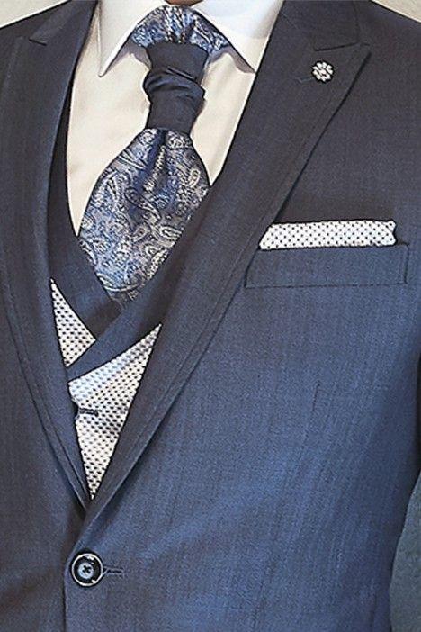Blue groom suit ETERNAL 13.20.330
