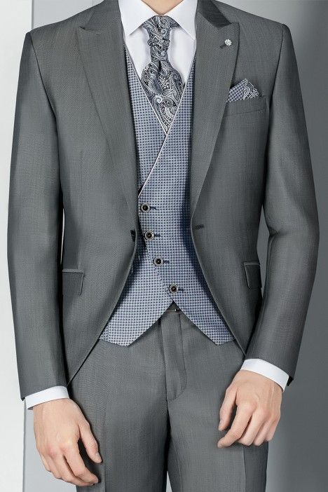 Grey groom suit ETERNAL 15.20.021