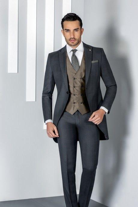 Grey groom suit ETERNAL 16.20.010