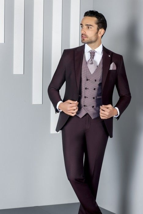 Burgundy groom suit ETERNAL 21.20.500