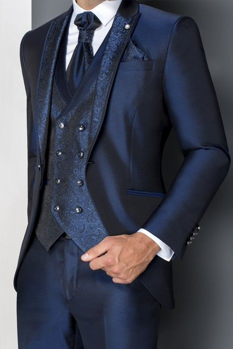 Blue groom suit WEDDING 22.19.310