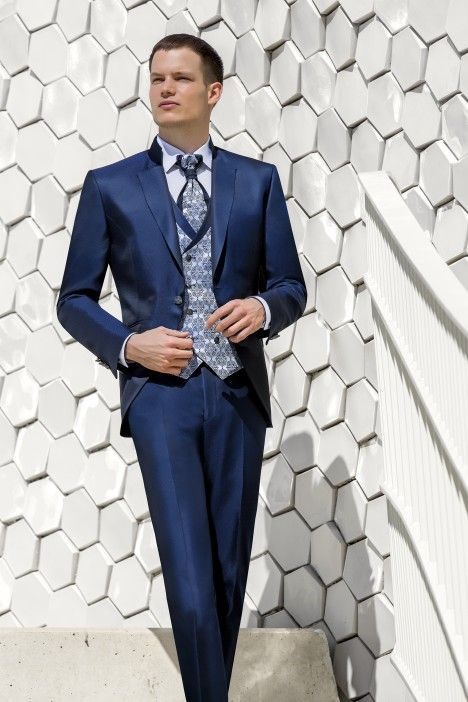 Blue groom suit WEDDING 26.20.303