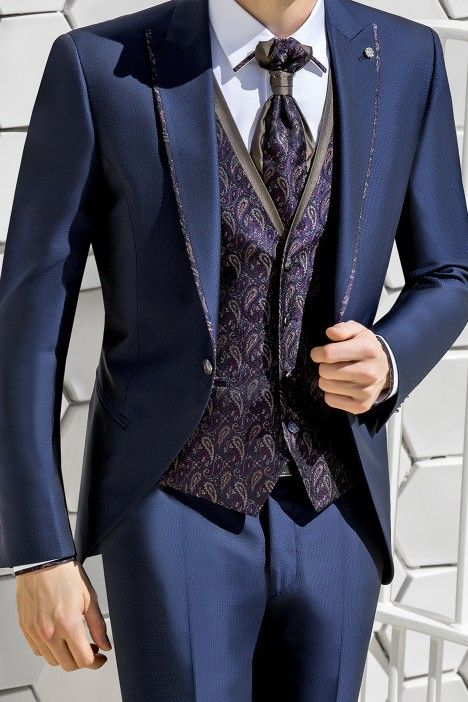 Blue groom suit WEDDING 29.20.300