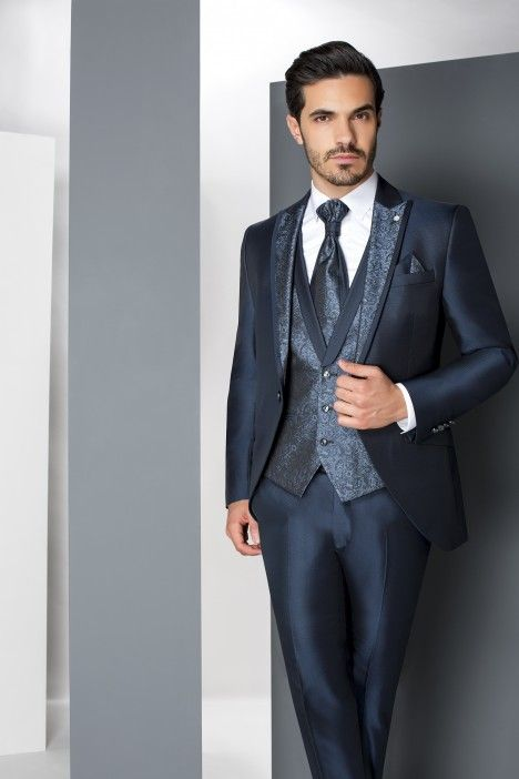 Blue groom suit WEDDING 30.19.320