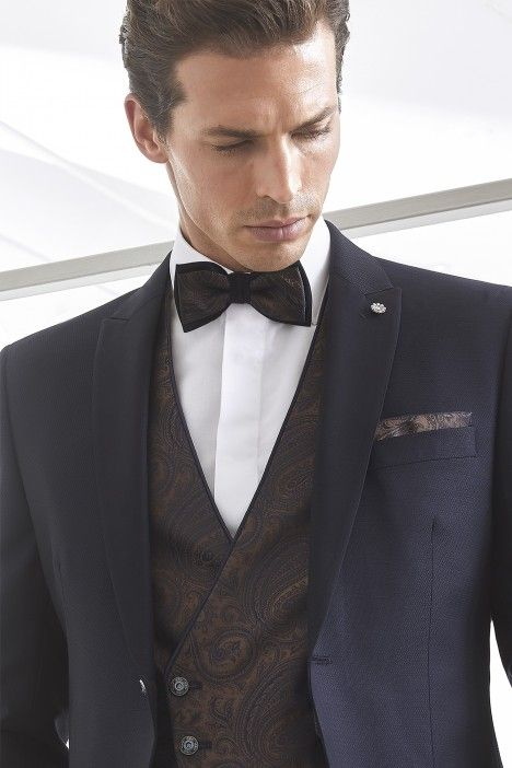 Blue groom suit WEDDING 32.20.300