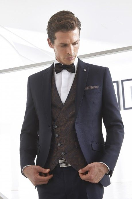 Blue groom suit WEDDING 32.20.300