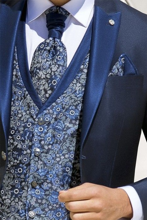 Blue groom suit WEDDING 34.20.301