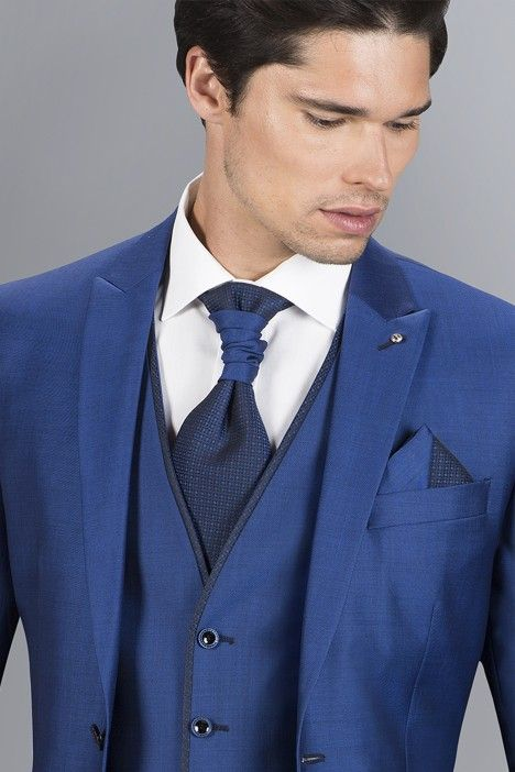 Blue groom suit SPECIAL EDITION 42.18.343