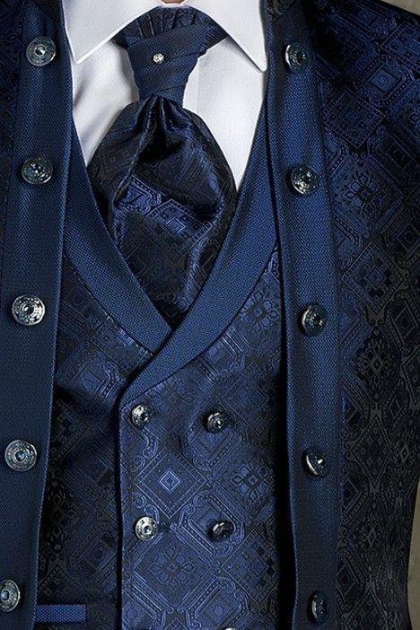 Costumes de marié TREND bleu COR 48.19.300
