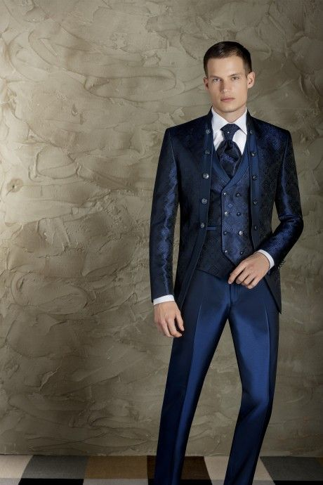 Blue groom suit TREND 48.19.300