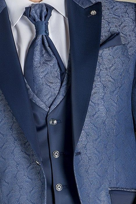Blue groom suit TREND 62.20.310