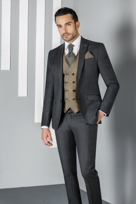 Grey groom suit SPECIAL EDITION 63.20.011