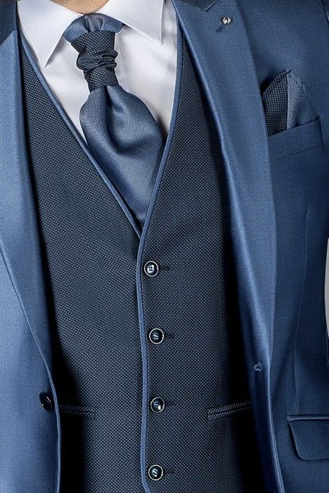 Blue groom suit SPECIAL EDITION 79.20.330