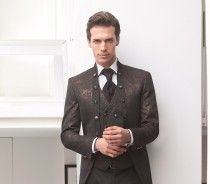 Bronze wedding suits… are here to stay!