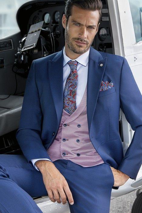 Blue groom suit Eternal 03.21.313