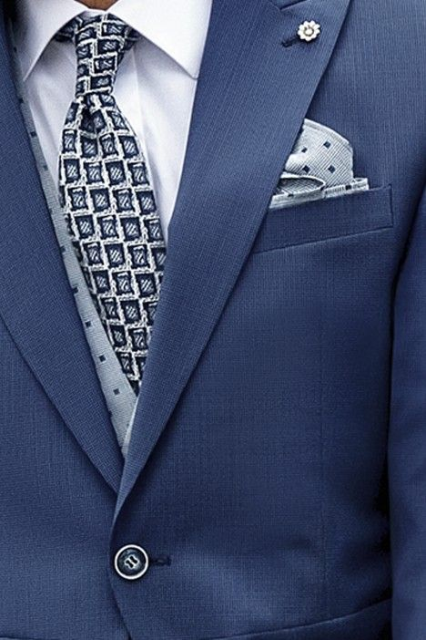 Blue groom suit Eternal 05.21.310