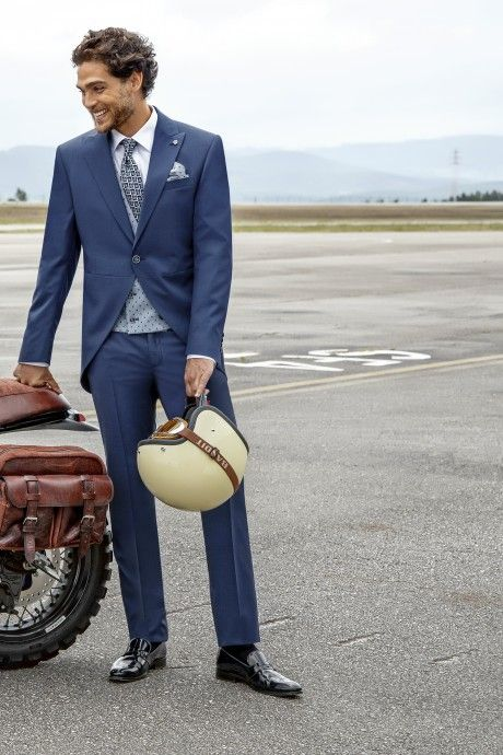 Blue groom suit Eternal 05.21.310