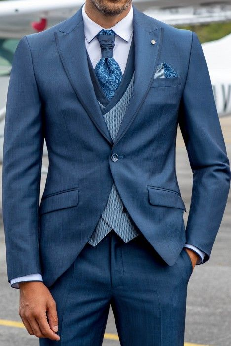 Blue groom suit Eternal 06.21.332