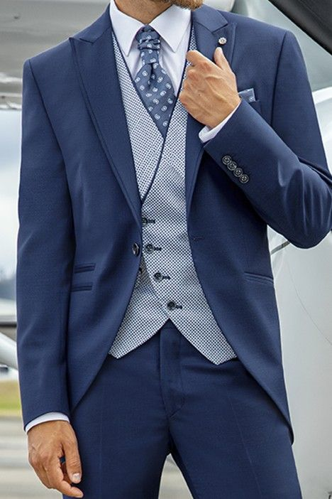 Blue groom suit Eternal 14.21.310
