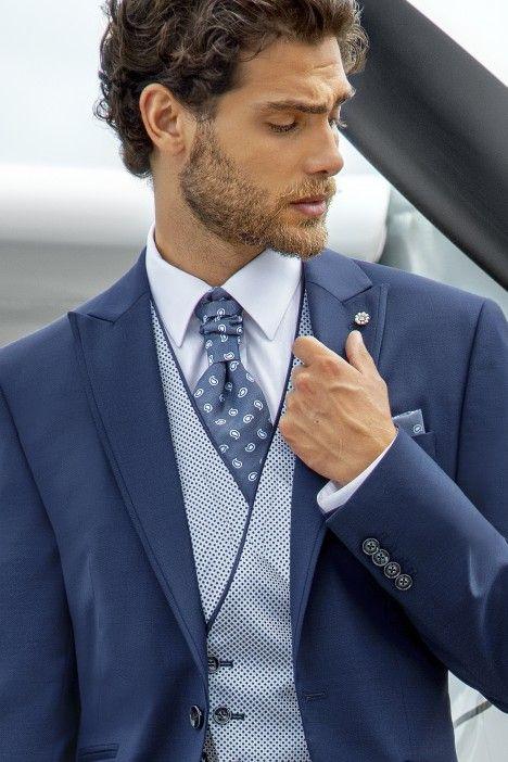 Blue groom suit Eternal 14.21.310