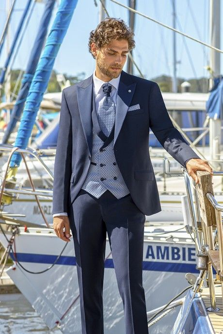 Blue groom suit Eternal 19.21.300