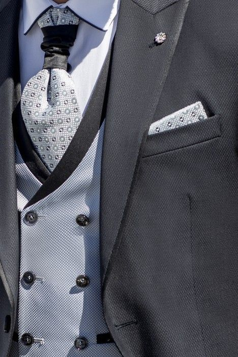 Grey groom suit Eternal 25.21.020