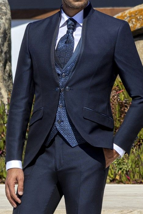 Blue groom suit Wedding 36.21.320