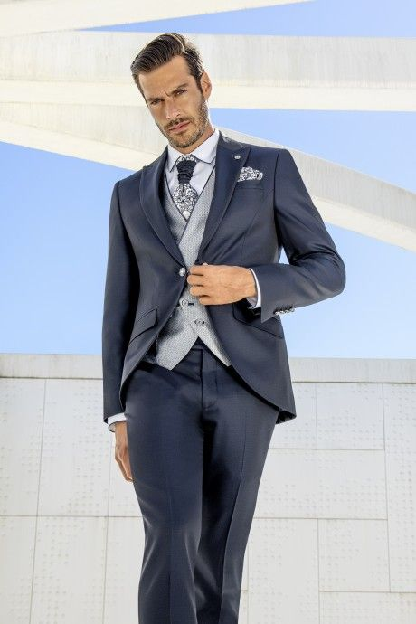 Blue groom suit Wedding 43.21.305