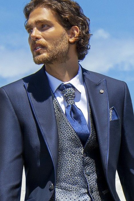 Blue groom suit Wedding 53.21.300