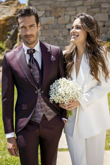 Burgundy groom suit Wedding 59.21.500