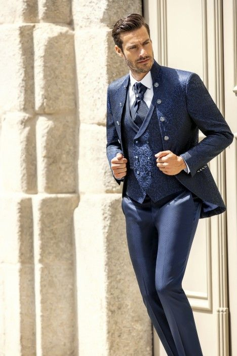 Blue groom suit Trend 69.21.300