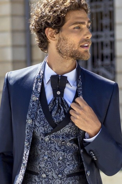 Blue groom suit Trend 70.21.300