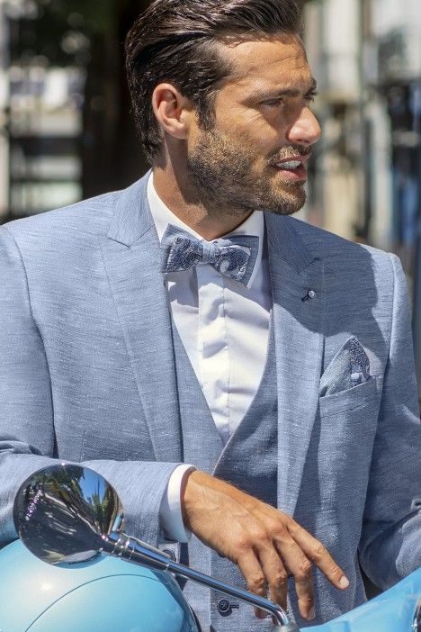 Blue groom suit Special Edition 104.21.300