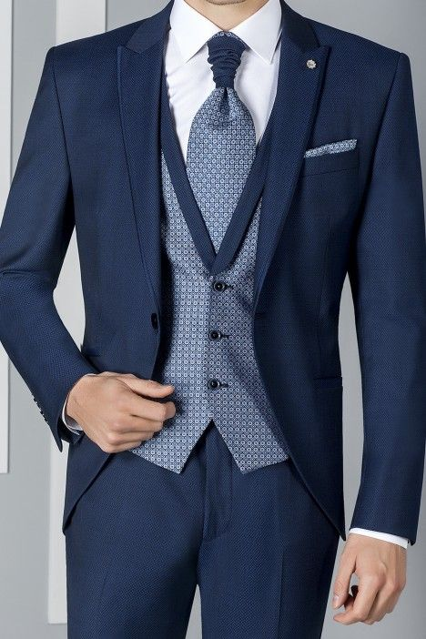 Blue groom suit ETERNAL 01.20.301