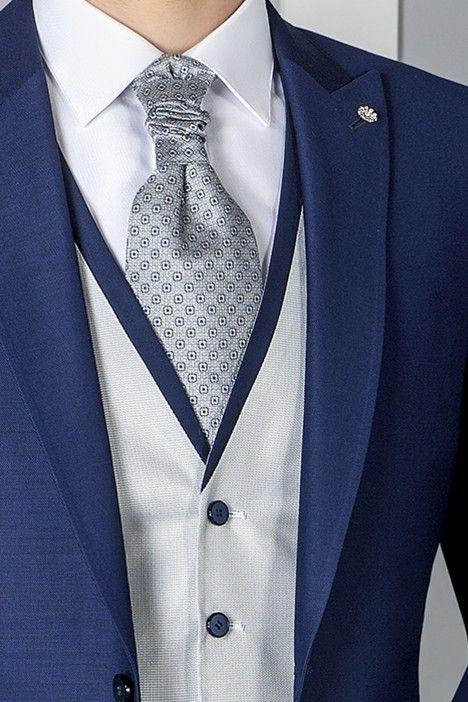 Blue groom suit ETERNAL 04.20.300