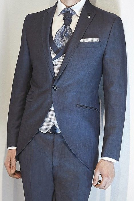 Blue groom suit ETERNAL 13.20.330