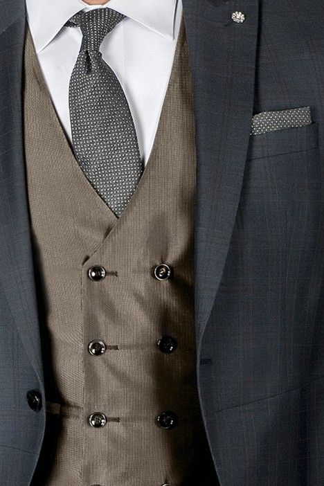 Grey groom suit ETERNAL 16.20.010