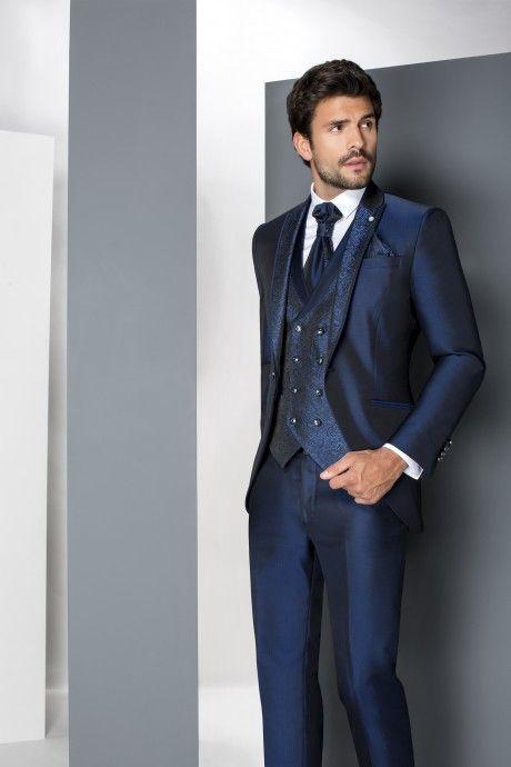 Blue groom suit WEDDING 22.19.310