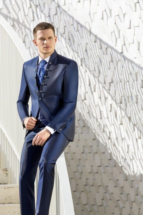 Blue groom suit WEDDING 28.19.311