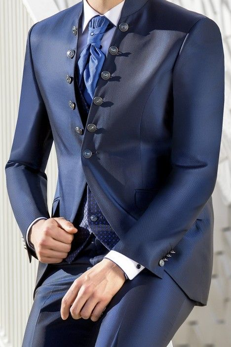 Blue groom suit WEDDING 28.19.311